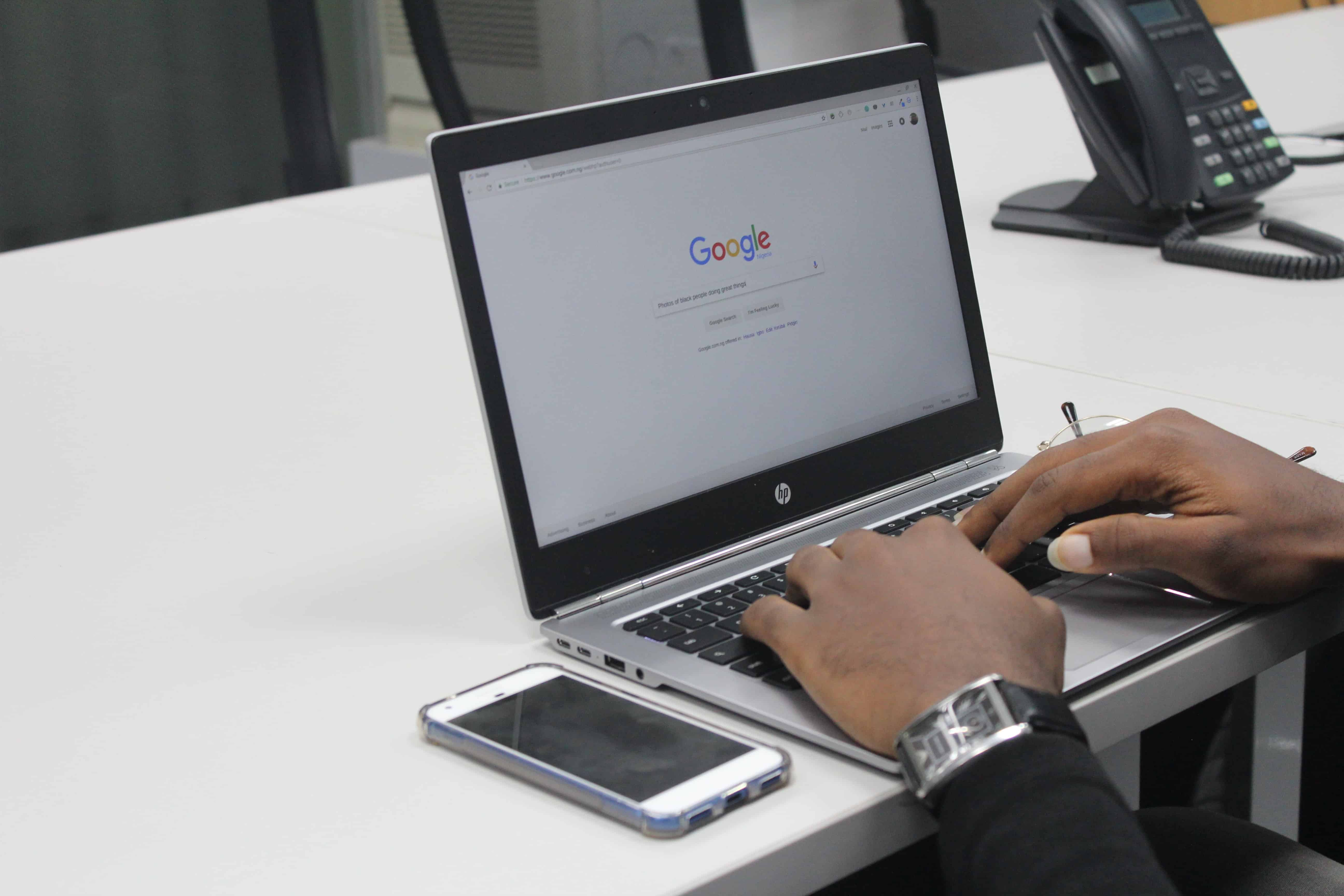 Searching on Google