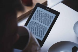 Ebook reading from tablet